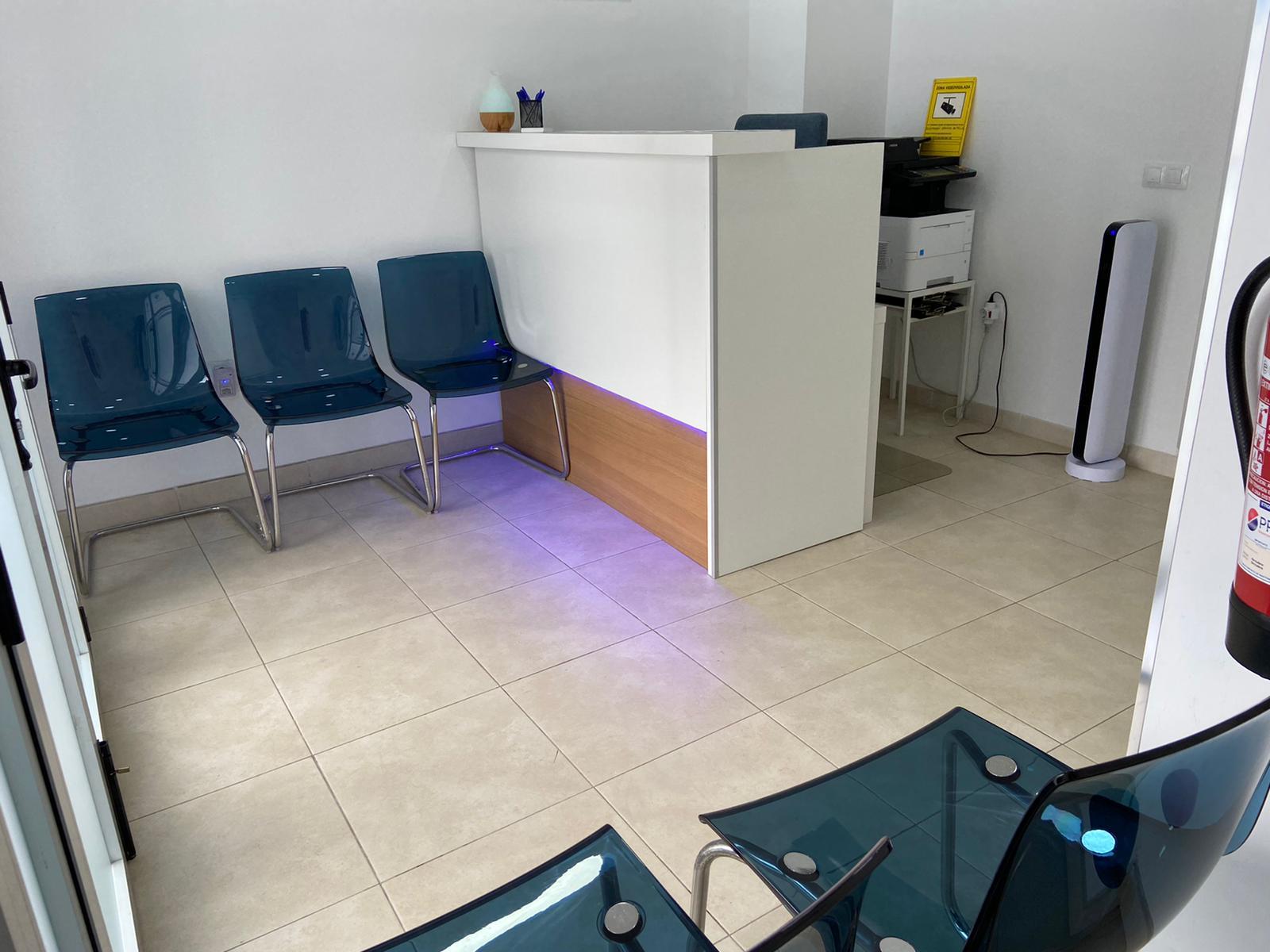 RECEPCION RECONOCIMIENTOS MEDICOS ALCARAVANERAS
